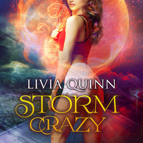 Things Better Settle Down Soon, 'Cause I'm About to Go… Storm Crazy by @LiviaQuinn #bookreview #para