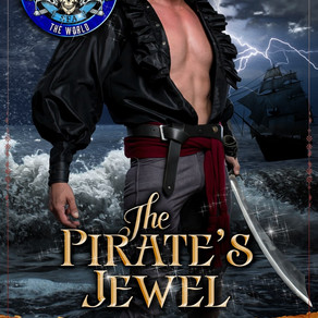 Cover Reveal ~ The Pirate's Jewel: Pirates of Britannia Connected World by USA Today Bestseller