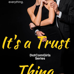 It's a Trust Thing (DotComGirls, Book 2) by Award-Winning Author @peggy_jaeger is a Snuggle Up Reada