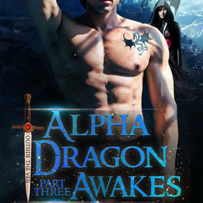 Book Review | Alpha Dragon Awakes (Outside the Veil, #3) by @TJShawAuthor #paranormalromance #shifte