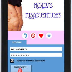 The perils of dating have never been so hilarious! Molly's Misadventures by @dehaggerty #chickli