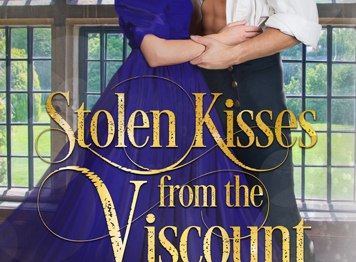 Stolen Kisses from the Viscount by @alannalucas27 is a Binge-Worthy Book Festival Pick #historicalro