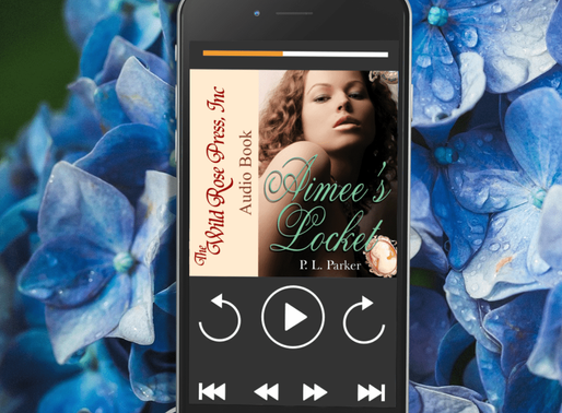 Celebrate Audiobook Month with Aimee's Locket by @PLParker #timetravel #romance #audiobook