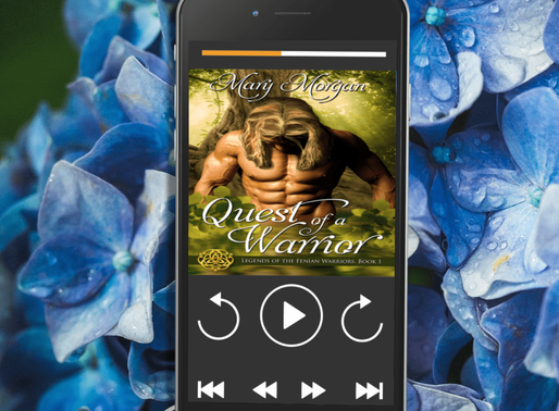 Celebrate Audiobook Month with Quest of a Warrior by Award-Winning @m_morganauthor #fantasyromance #