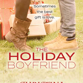 The Holiday Boyfriend by Bestseller @AuthorCBenjamin is a Snuggle Up Readathon Pick #YARomance #yali