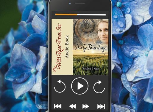 Celebrate Audiobook Month with Thirty-Three Days by @StephenBKing1 #romanticsuspense #timetravel #au