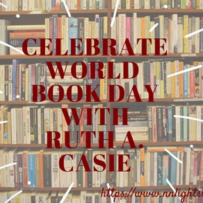 Celebrate #WorldBookDay with USA Today Bestseller @RuthACasie! #books #historicalromance #romance #a
