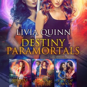 Destiny Box Set 1 (Books 1-3) by @LiviaQuinn is a Fall Into These Great Reads Pick #paranormal #para
