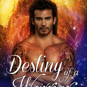 Destiny of a Warrior by Award-Winning Author @m_morganauthor is a Fall Into These Great Reads Pick #
