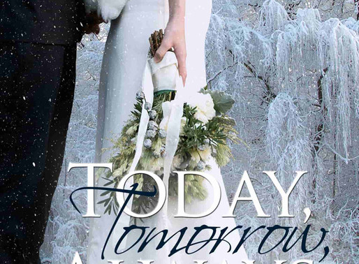 Celebrate weddings with Today, Tomorrow, Always by Award-Winning Author @peggy_jaeger #romance