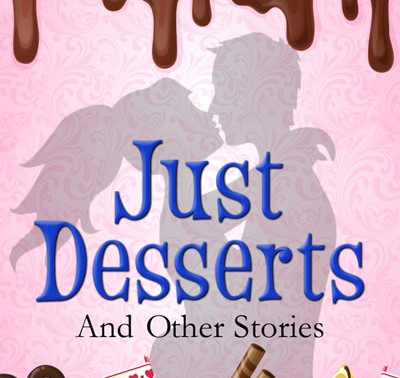 """""""I have a theory about love.""""Just Desserts…and Other Storiesby @VickiBatman #romance #shortst"""