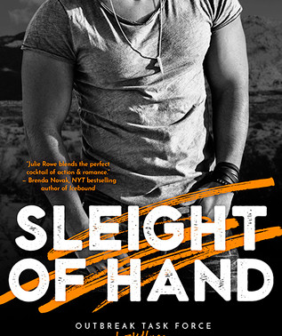 Sleight of Hand by @JulieRoweAuthor is an adrenaline rush start to finish! #bookreview #romanticsusp