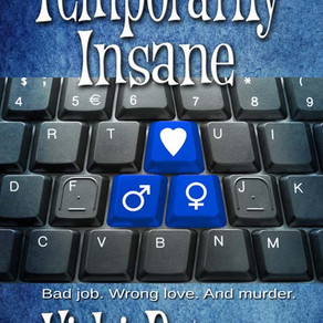 Temporarily Insane by @VickiBatman is a Cozy Mystery Event pick #cozymystery #romcom #giveaway