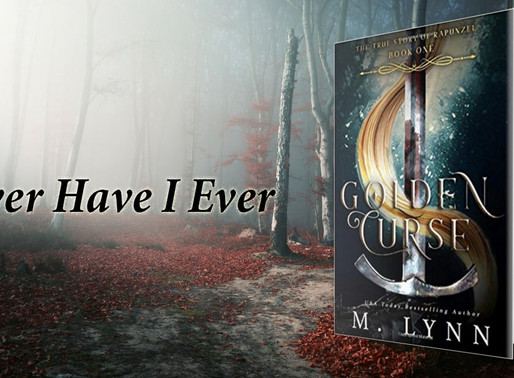 Golden Curse by M. Lynn is a YA Bookish Event pick #yafantasy #yalit #fantasy #giveaway