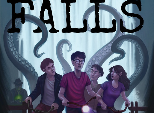 Grace Falls: An Anthology of Wonder and Fright by @G_A_Fino is a Fall Into Bookathon pick #horror