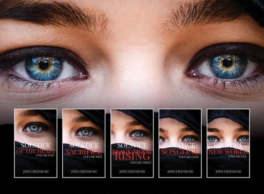 The Solstice Series Boxset (Books 1-5) by John J. Blenkush is a YA Bookish Event pick #yalit #books