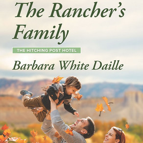Book Heaven Wednesday presents The Rancher's Family (The Hitching Post Hotel series) by @BarbaraWDai