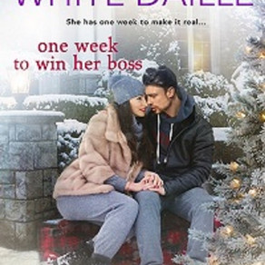 Book Heaven Wednesday presents One Week to Win Her Boss (Snowflake Valley series) by @BarbaraWDaille
