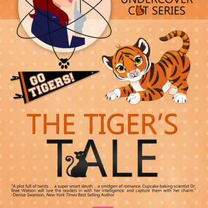 The Tiger's Tale by @kellezriley is a Cozy Mystery Event pick #cozymystery #romance #giveaway