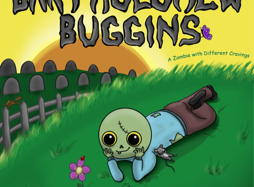 Bartholomew Buggins: A Zombie with Different Cravings by Award-Winning Author @CrystalMarcos #kidlit