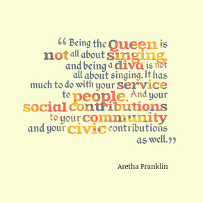 Three Things Mrs. N Learned From #ArethaFranklin . . .  #FridayMotivation #motivation #inspiration
