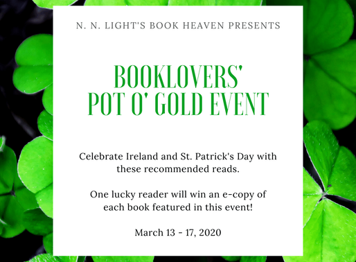 Sign-up today for this Irish-themed event! #authors #bookmarketing #stpatricksday
