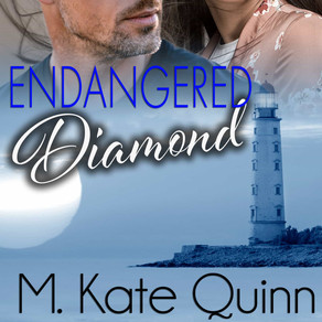 New Release | Endangered Diamond by @MKateQuinn #romanticsuspense #romance #giveaway #bookboost
