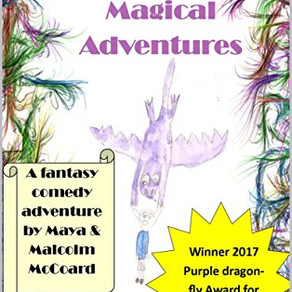 Like Nothing You've Read Before!   Maya's Magical Adventures by Malcolm and Maya McCoard @th