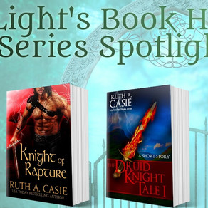 Book Series Recommendation | Druid Knight series by USA Today Bestseller @RuthACasie #romance