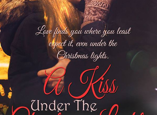 A Kiss Under the Christmas Lights by Award-Winning Author @peggy_jaeger is a Snuggle Up Readathon Pi