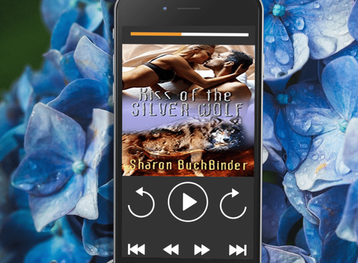 Celebrate Audiobook Month with Kiss of the Silver Wolf by Award-Winning @sbuchbinder #audiobook #par