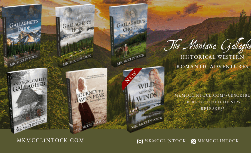 Book Series Recommendation | Montana Gallagher series by Award-Winning Author @MKMcClintock #histori
