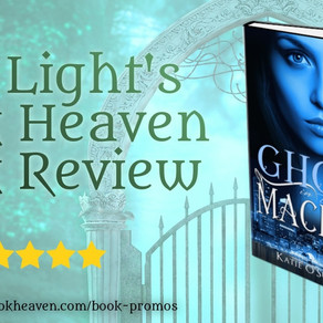 5+ stars for Ghost in the Machine by @OkatieO #romanticsuspense #paranormal #bookreview