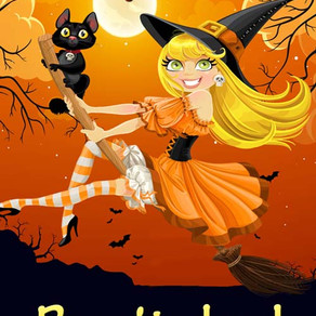Bewitched by @nfraserauthor is a Scary Reads for Halloween #romcom #halloween #giveaway