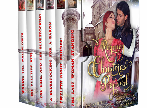 Twelfth Night Promise (A Regency Christmas Proposal) by @alannalucas27 is a Snuggle Up Readathon Pic