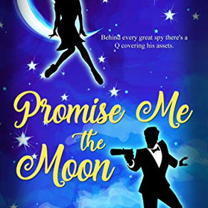 Promise Me the Moon (The Q Chronicles #1) by @nicholerevised #bookreview #romcom #itschemistry