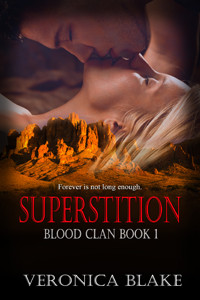 Celebrate spring with Superstition by @VeronicaBlake53 #paranormalromance #romance #giveaway