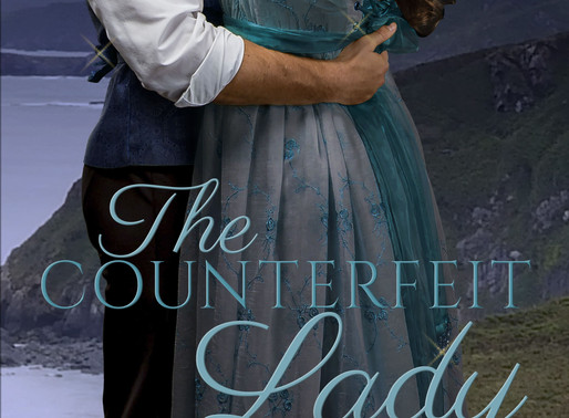 Celebrate spring with The Counterfeit Lady by @AlinaKField #historicalromance #Regency #giveaway