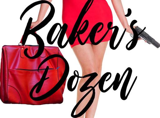 Baker's Dozen by @ameyzeigler is a Shake Off Winter Doldrums Festival Pick #romanticsuspense #books