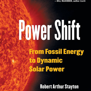 Award-Winning Book Power Shift: From Fossil Energy to Dynamic Solar Power Retells Human History Thro