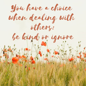 You have a choice: be kind or ignore #TuesdayMotivation #inspiration #motivation