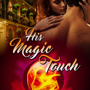 His Magic Touch by @DebbyGrahl is a Trick or Treat Bonanza pick #paranormalromance #giveaway