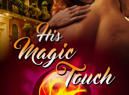 Great book for less than a buck: His Magic Touch by @DebbyGrahl #99cents #paranormalromance