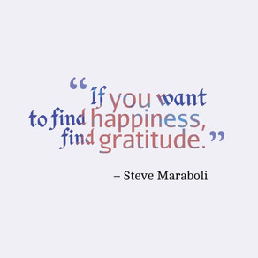 #MondayMotivation -- If You Want to Find #Happiness, Find #Gratitude! #grateful #MondayBlogs #Monday