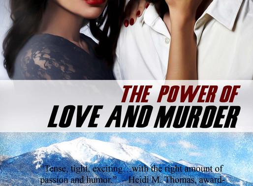 The Power of Love and Murder by @brendawhitesid2 is a Snuggle Up Readathon Pick #romanticsuspense #g