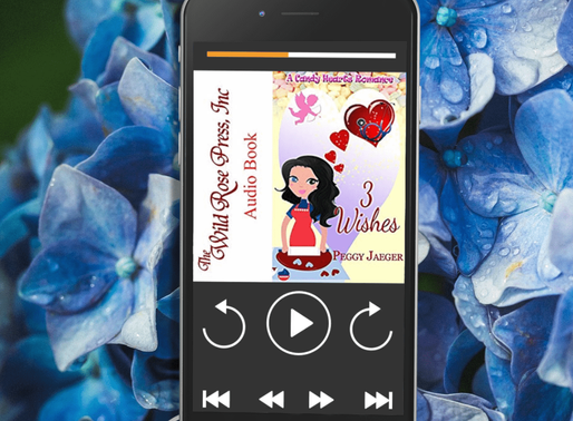 Celebrate Audiobook Month with 3 Wishes (A Candy Hearts Romance) by Award-Winning Author @peggy_jaeg