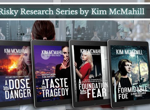 Book Series Recommendation | Risky Research series by @KimMcMahill #RiskyResearch #romanticsuspense