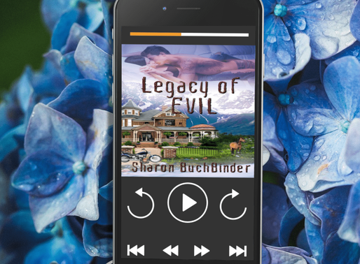 Celebrate Audiobook Month with Legacy of Evil by Award-Winning Author @sbuchbinder #PNR #paranormalr