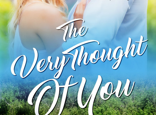 Book Review | The Very Thought of You by @clairepmarti #romance #bookreview