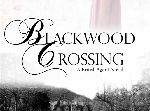 Celebrate weddings with Blackwood Crossing by @MKMcClintock #historicalmystery #giveaway